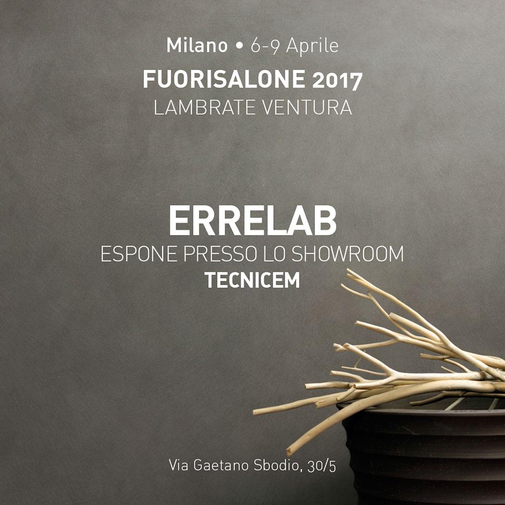 FUORISALONE_Milano_6_9_Aprile_ErreLab_presso_TECNICEM